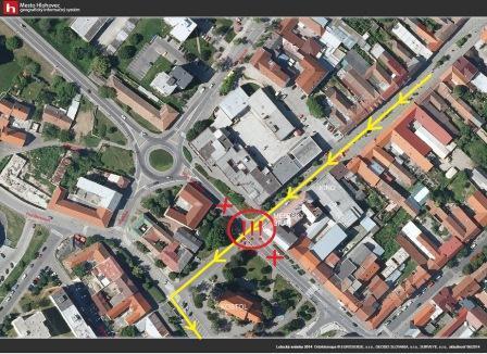 mapa - dopravné obmedzenia počas Majstrovstiev Slovenska v mažoretkovom  športe cacaf036b1d