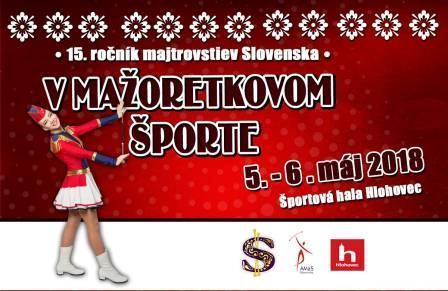 d2bb3ee19 Plagát Majstrovstvá Slovenska v mažoretkovom športe